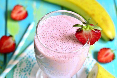 Jordbærdrikker som er bra for kostholdet ditt