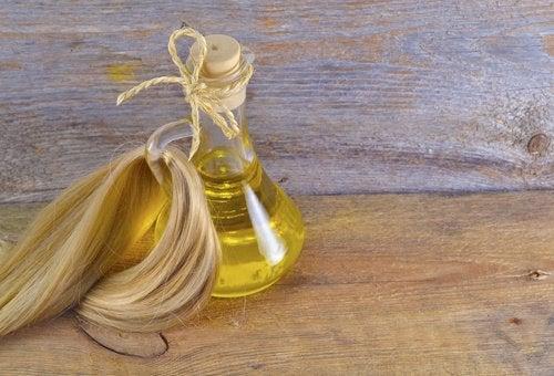 Hvetekimolje fungerer som en naturlig balsam