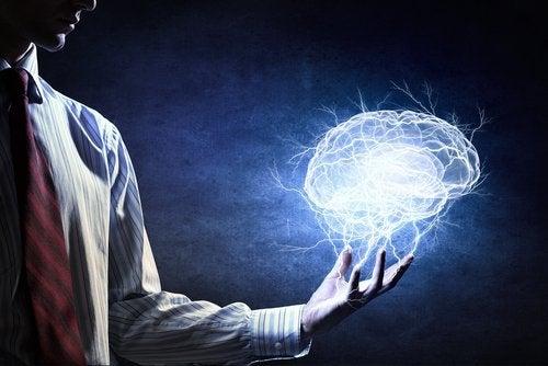 lysende hjerne