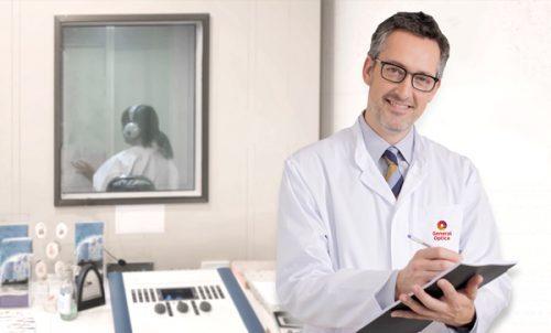 Hørselstest hos lege