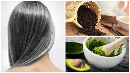 Reduser prematurt grått hår med disse 6 hjemmebehandlingene