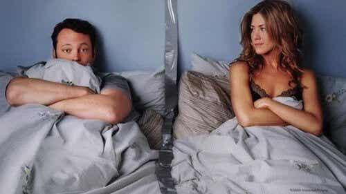 Separate soverom kan være en fordel for forholdet