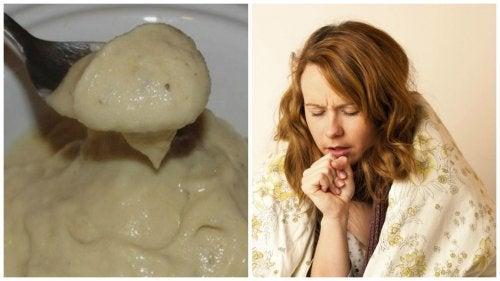 Prøv banan- og honningkrem for å lindre hoste og forkjølelsessymptomer