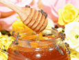 honningglass med bier