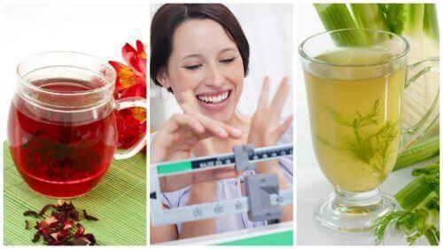 Gå enkelt ned i vekt med disse 6 naturlige infusjonene