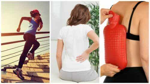 8 tips for å naturlig lindre smerter i korsryggen