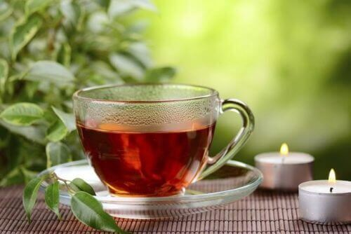 Rød te
