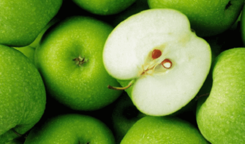 Grønne epler bidrar til å fjerne mettet fett