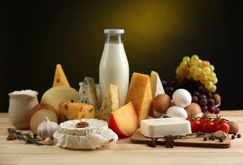 Matvarer med kalsium