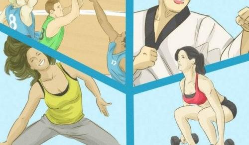 8 naturlige måter å styrke beina dine på