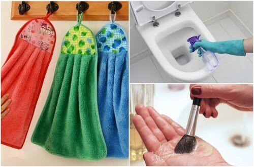9 ting i hjemmet ditt som du bør rengjøre hver dag