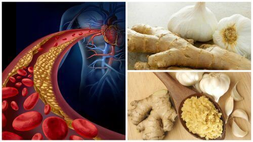Bekjemp høyt blodtrykk og kolesterol med ingefær og hvitløk