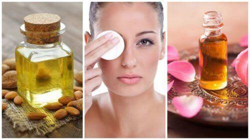 fjern sminken din med naturlige oljer