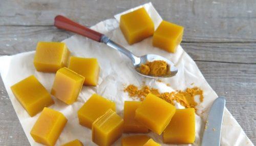 Gelatinkuber med honning og gurkemeie: supert mot infeksjoner!