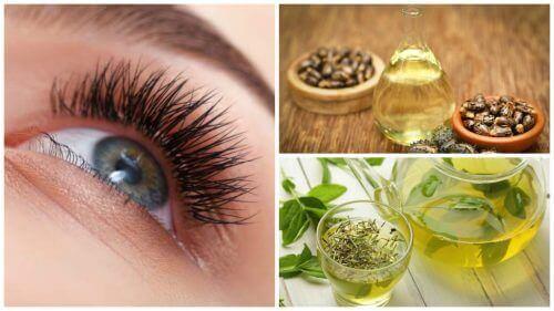 Gjør øyenvippene lengre med disse 7 naturlige behandlingene