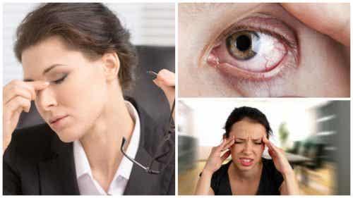 Plages du av visuelt stress? Finn ut av det ved hjelp av disse 8 symptomene
