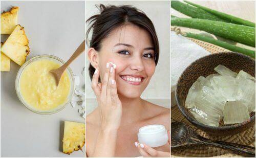 Få strammere hud med disse naturlige behandlingene