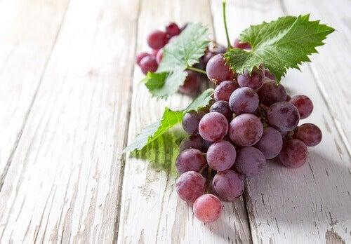 Blå druer senker blodtrykket