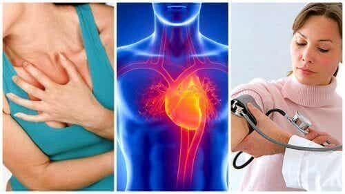 7 komplikasjoner av hypertensjon