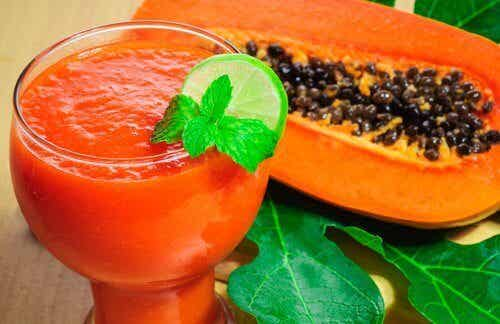 Spis en bit papaya hver dag for disse fordelene