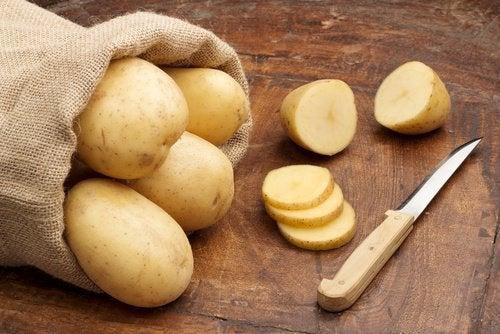 Rå poteter