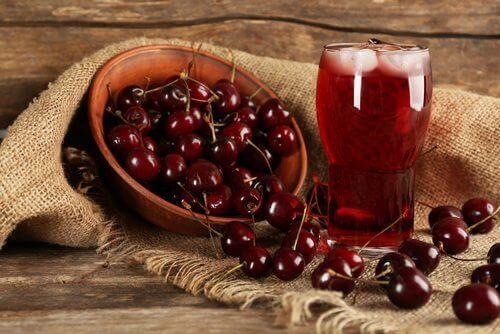 Kiresebærjuice