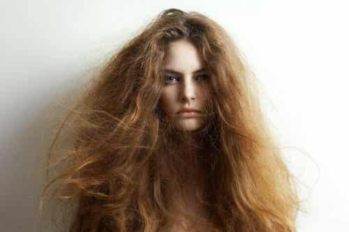 5 naturlige ingredienser for å behandle tørt hår