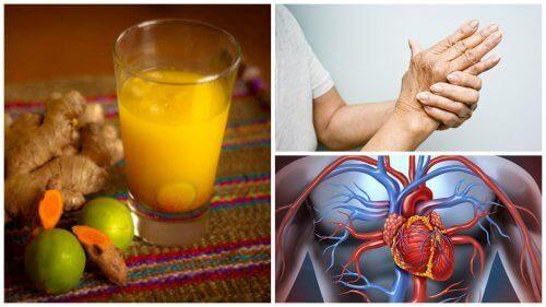 8 bemerkelsesverdige fordeler med å drikke gurkemeiejuice