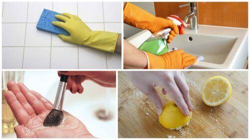 7 husholdningsartikler du bør desinfisere hver dag