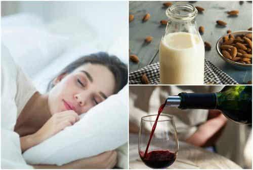 7 naturlige drikker som hjelper deg med å bekjempe søvnproblemer
