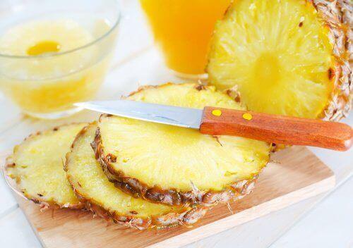 Ananas for å bekjempe symptomene på urinveisinfeksjoner