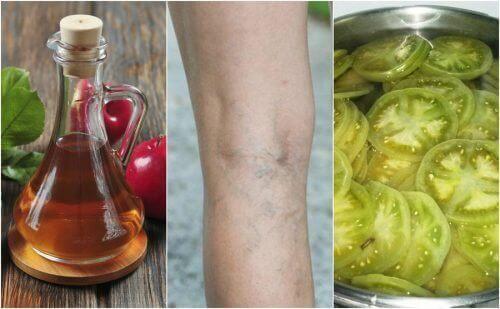 Bekjemp åreknuter med eddik og grønn tomat