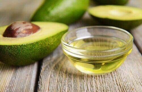 Matvarer som renser leveren, avokado