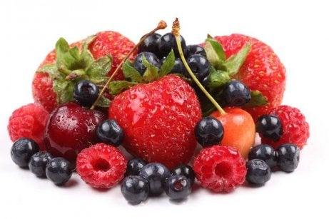 Matvarer mot artritt: bær