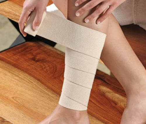Bandasje for behandling