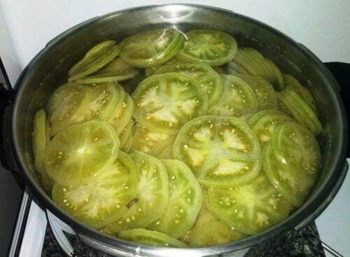 Grønn tomat