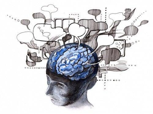 Hjerne og snakkebobler