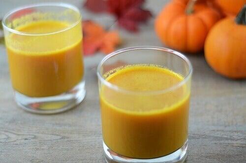 Gresskar- og gulrotjuice for vektnedgang og bedre immunforsvar