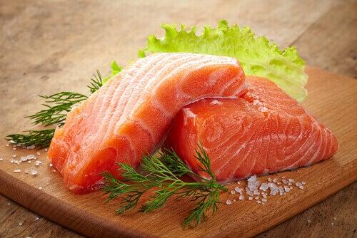 Fet fisk mot mangel på serotonin