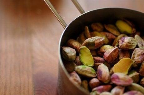 Matvarer mot artritt: Pistasjnøtter