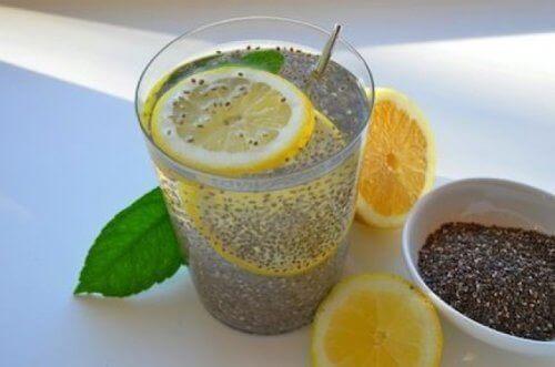 Sitron og chiafrø hjelper deg å gå ned i vekt