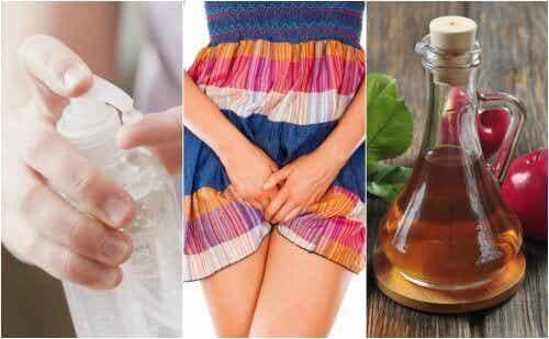 6 trinn for å behandle gjærsoppinfeksjoner i underlivet naturlig