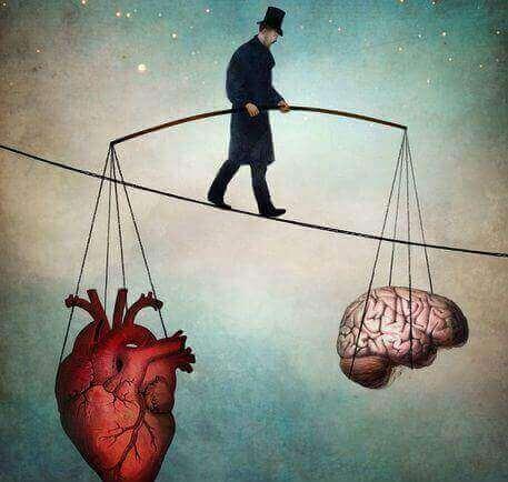 Mann med hjerte og hjerne