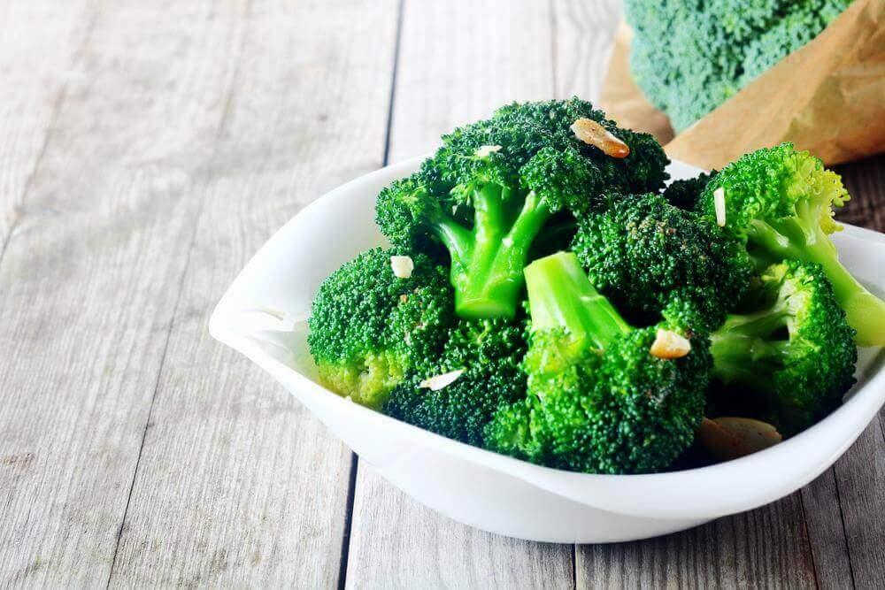 Brokkoli for å fjerne blokkeringer i arteriene