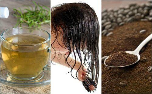 5 naturlige behandlinger mot tidlig grått hår