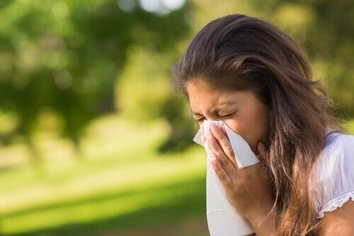 Allergier er et tegn på at leveren er overfylt med giftstoffer