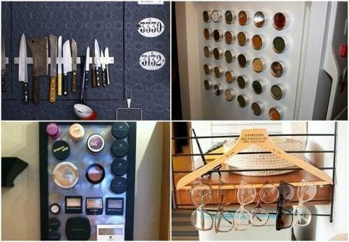 13 raske og enkle triks som vil hjelpe deg med å holde huset organisert