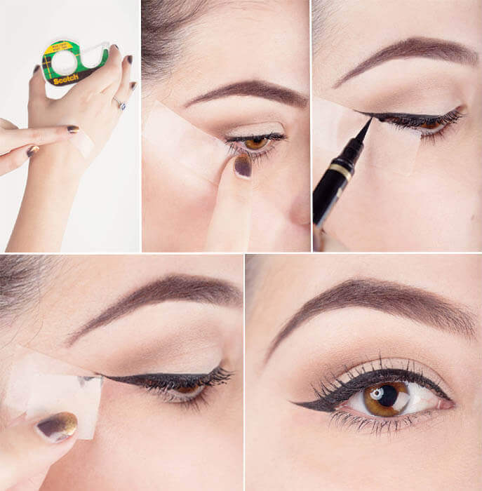 Tips for å påføre eyeliner