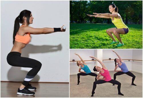 6 typer knebøy for å gi beina en treningsøkt hjemme