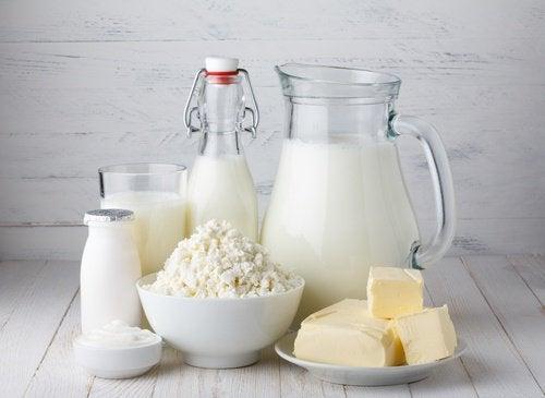 Melk og meieriprodukter